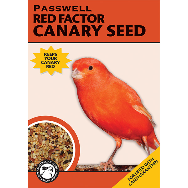 Red factor canary seed